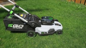 self propelled electric mowers